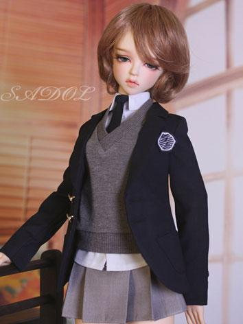 BJD Clothes Girl Student Cl...