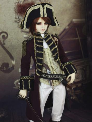 Bjd Clothes Boy Captain of ...