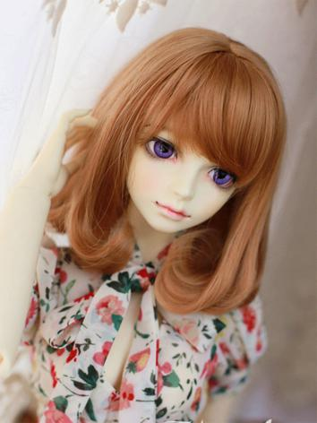 BJD Female Coffee/Brown/Gol...