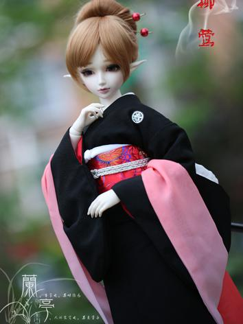 BJD Clothes Boy/Girl Kimono Set [Yanlan] for 75cm/70cm/SD/MSD/YSD Ball-jointed Doll