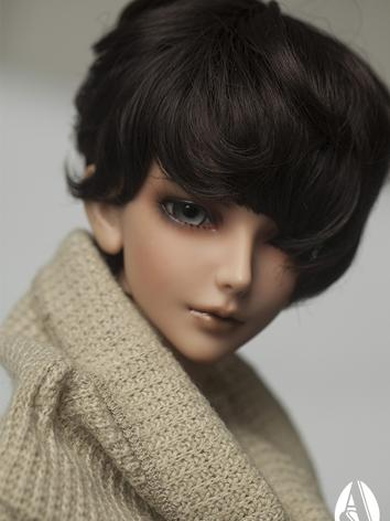 【Limited Edition】BJD 1/3 Fluffy short curl wig(black) WG313123 for SD Size Ball-jointed Doll