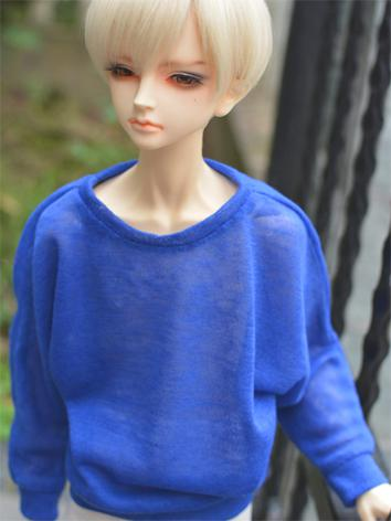BJD Clothes Blue T-shirt A161 for MSD/SD/70cm Size Ball-jointed Doll