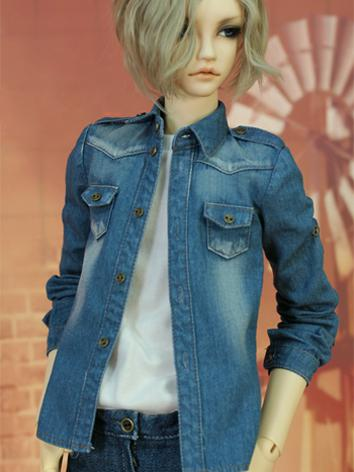 BJD Clothes Daily Jeans-2 Boy Suit for SD13/SD17/70CM Size Ball-jointed Doll