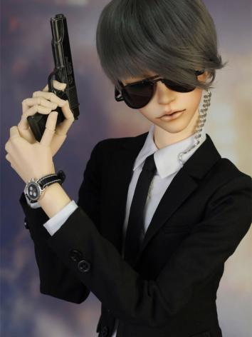 BJD Clothes My Bodyguard Boy Suit for SD13/SD17/70CM Size Ball-jointed Doll