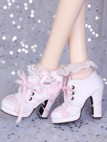 Bjd Shoes 1/3 oriental cherry boots for SD Size Ball-jointed Doll