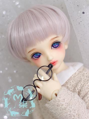 BJD Wig Pink Hair Wig for MSD Size Ball-jointed Doll