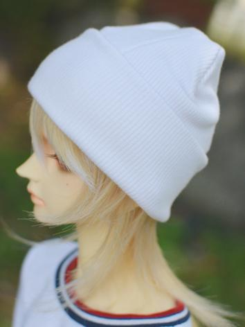 BJD Hat White Hat for 70cm/...