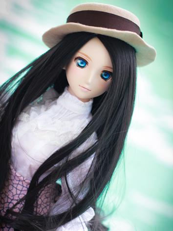 BJD Female Black Long Hair ...