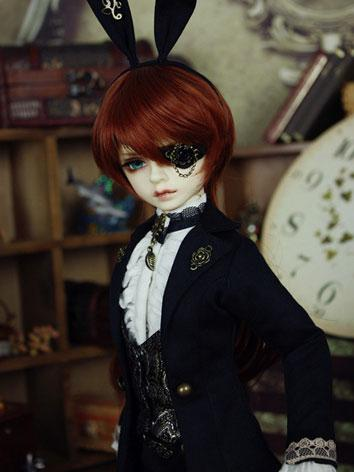 Bjd Clothes 【Mr. Black Rabbit】 Black Suit for MSD Ball-jointed Doll