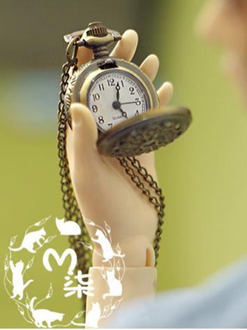 BJD Accessaries Silver/Bronze Pocket Watch for SD/70cm Ball-jointed doll