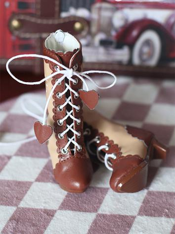 Bjd Shoes Girl Cute Boots f...
