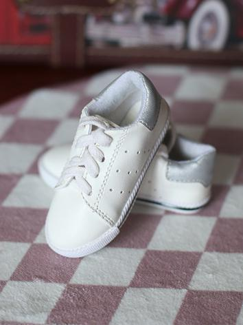 Bjd Shoes Boy White Shoes f...