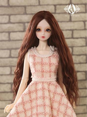 【Limited Edition】BJD 1/3 Red brown curl hair WG315103 for SD Size Ball-jointed Doll