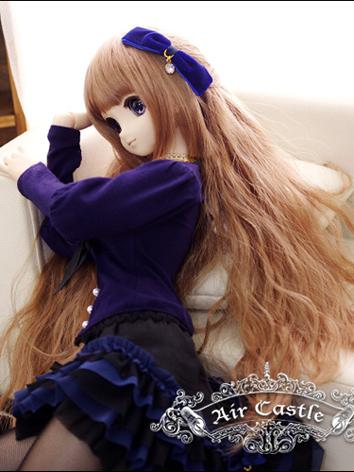 BJD Wig 1/3 hair Brown Wig for SD Size Ball-jointed Doll