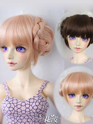 BJD Female Pink/Brown Hair ...