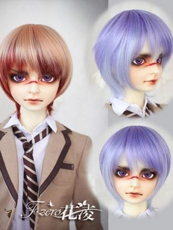 BJD Male Pink/Blue Short Ha...