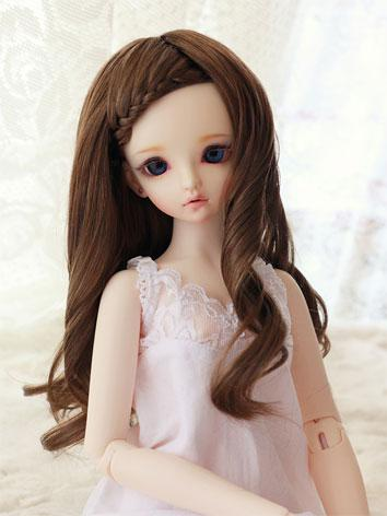 BJD Wig Coffee Hair Wig JW0...
