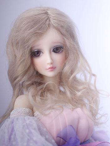 BJD Wig Gold Hair SD Size W...