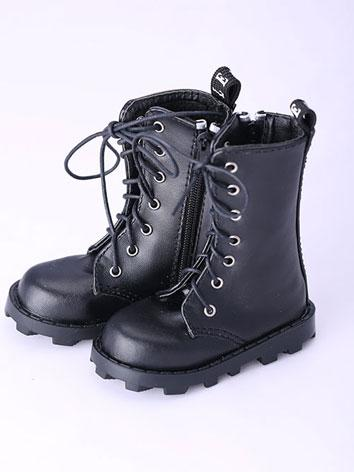 Bjd Shoes Black Short Boots...