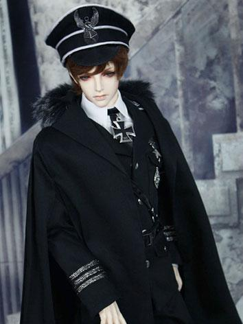 Bjd Clothes Black Navy Suit...