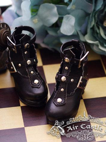 Bjd Girl Black High-heels Shoes for SD Ball-jointed Doll