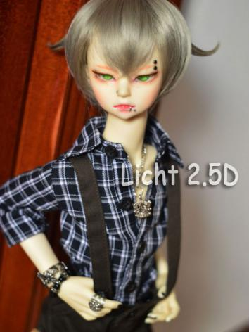 BJD Silver Short Wig for SD...
