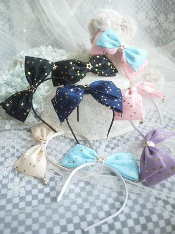 BJD Hair Decoration Bow Hairpin for SD/MSD/YSD Ball-jointed doll