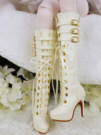 Bjd Beige High-heels Shoes ...