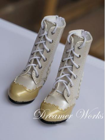 Bjd Gold Short Boots Shoes ...