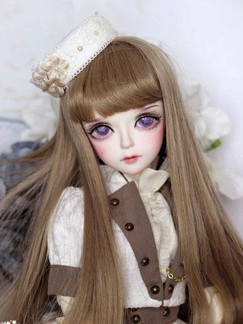 BJD White Crystal 43.5cm Girl Ball-jointed doll