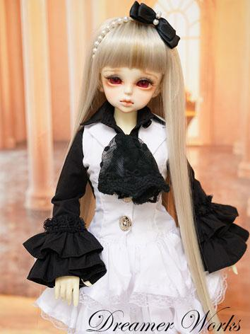 BJD Clothes Female White Dr...