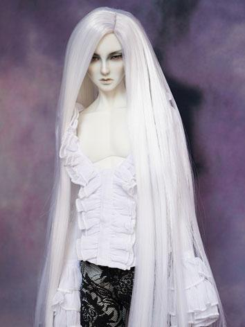BJD Wig Male White Long Wig...