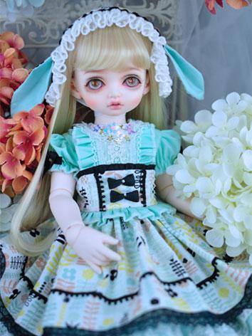 BJD Clothes Female Girl Blu...