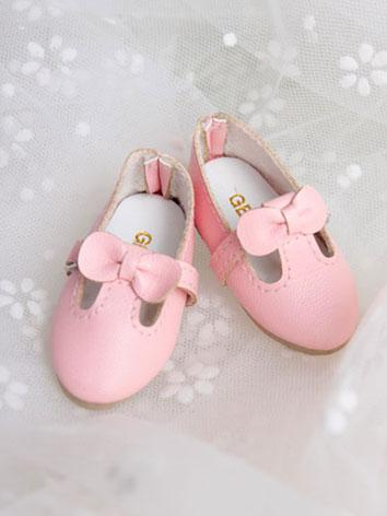 Bjd Girl Sweet Pink Shoes f...