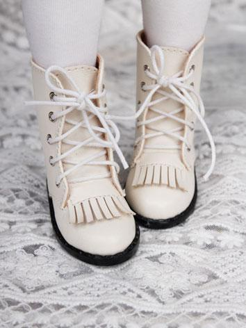 Bjd Beige Short Boots Shoes...