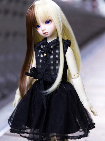 BJD Clothes Female Black/Pi...