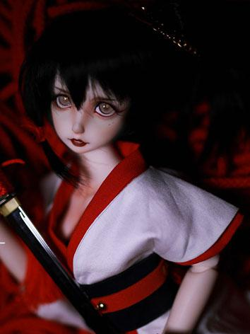 BJD 42cm Huohe Girl Ball-jo...