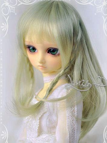 BJD Wig Sweet Girl Green Ha...