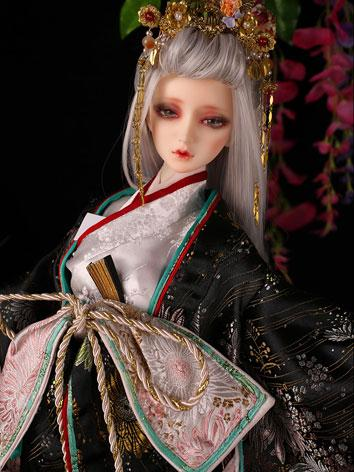 Bjd Clothes 62cm female kimono fullset/Feather CL320160830 for SD Ball-jointed Doll
