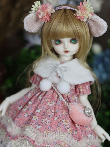 Bjd Clothes 【Emith Fla】Pink...