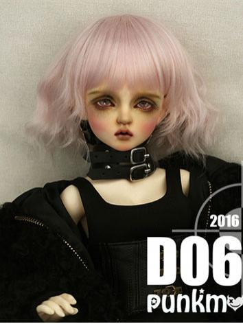 BJD Wig LIght Pink Hair for...