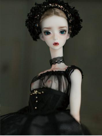 【Limited Edition】BJD The Black Swan 53cm Girl Ball Jointed Doll