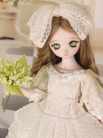 BJD Clothes Girls Suit [Fur...
