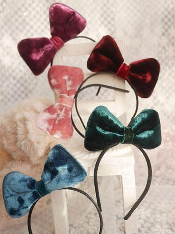 BJD Hair Decoration Bow Hairpin Stick for SD/MSD Ball-jointed doll