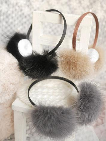 BJD Decoration Earmuff Hairpin Stick for SD/MSD Ball-jointed doll