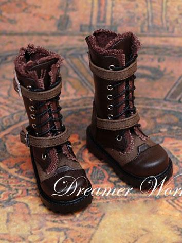 Bjd Male Brown Boots for 70...