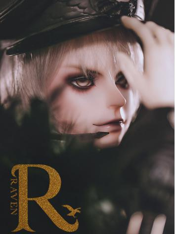 BJD Raven Boy 70.5cm Ball-jointed Doll