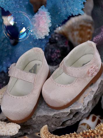 【Limited Edition】 Bjd Shoes 1/6 Baby doll Loli shoes -- Light pink SH617021 for YO-SD Size Ball-jointed Doll