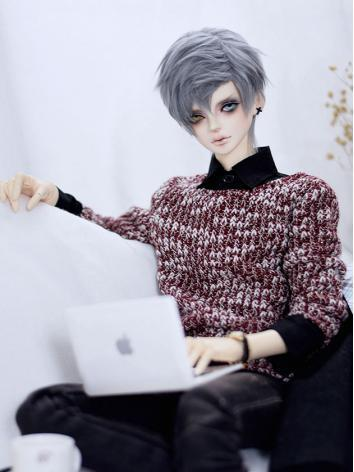 BJD Clothes Male Blue/Wine ...
