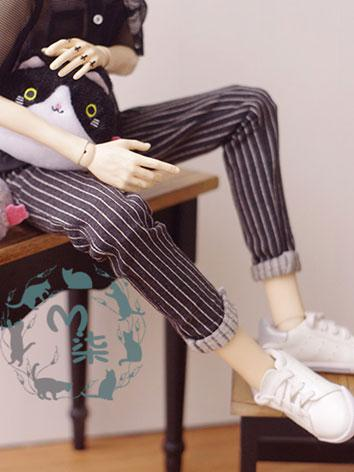 BJD Clothes Boy Stripe Pant...